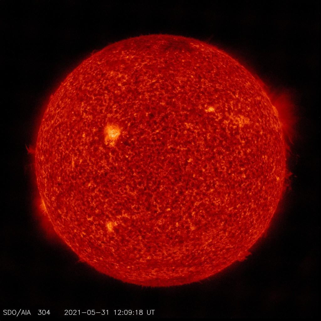 Aktuelles Bild der Sonnenoberfläche