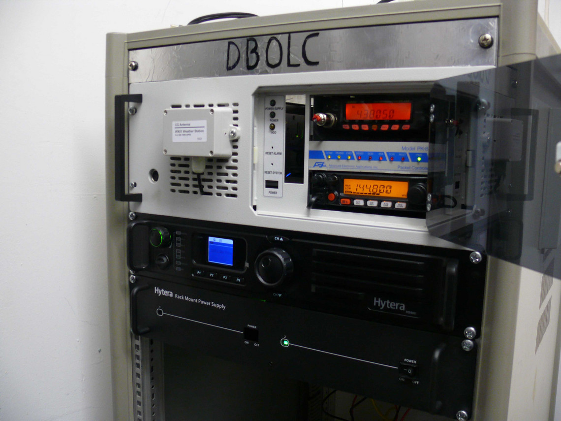 Relais DB0LC Rack
